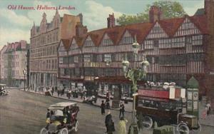 England London Old Houses Holborn