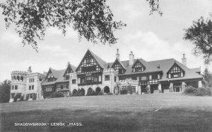 Shadowbrook, Lenox, Massachusetts, early postcard, unused