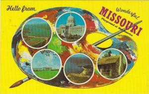 5-Views, Hello from wonderful Missouri playground of Mid-America, 40-60s