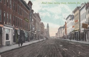 BELLEVILLE , Ontario, Canada, 1910 ; Front Street , looking South