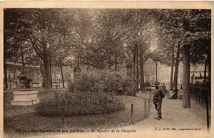 CPA AK PARIS Ses Squares et ses Jardins. 53. Square de la Chapelle (577603)