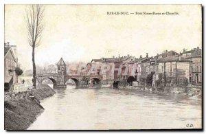 Postcard Old Bar Bridge Duke and Notre Dame Chapel