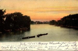 New York Rochester South park Boat Landing 1905 Rotograph