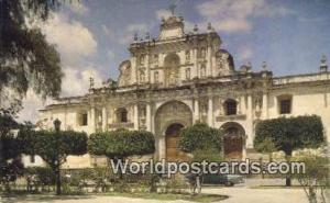 Guatemala, Central America Catedral de la Antigua  Catedral de la Antigua