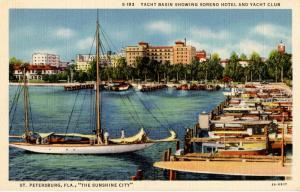 FL - St Petersburg. Yacht Basin