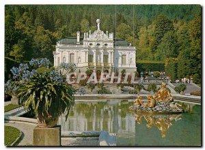 Old Postcard Linderhof Erbaut 1869 78 von Konig Ludwig II