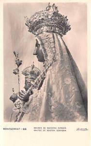 Spain Old Vintage Antique Post Card Imagen de Nuestra Senora Unused