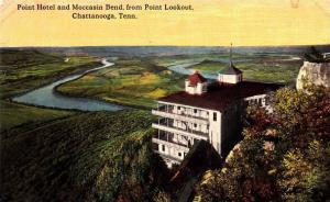 Point Hotel and Moccasin Bend,from Point Lookout,Chattanooga,Tennessee,00-10s