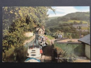 Denbighshire LLANGOLLEN The Welsh Canal c1970's by Salmon