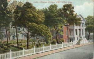 NATCHEZ , Mississippi , 1907 ; Stanton College