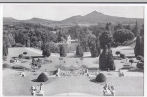 Ireland, Wicklow; Powerscourt Gardens, Enniskerry, From Roof PPC, Unposted