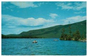 Postcard - Boating, Swimming, Fishing on Lake Dunmore Green Mts. Vermont