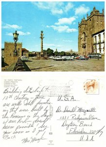 PORTUGAL Postcard Cathedral and Pillory (A14)