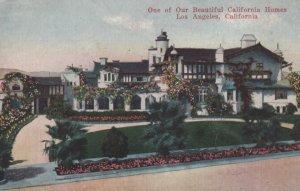 LOS ANGELES , 1900-10s ; California Home