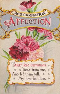 Red Carnation Affection, Rhyme, PU-1910