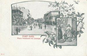 PORT SAID , Egypt , 1890s