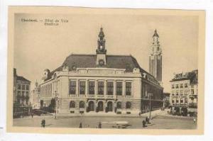 CHARLEROI, Belgium, 00-10s Hotel de Ville Staadhuis