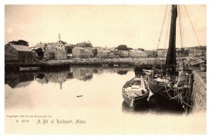 Massachusetts Rockport , View of town from Bay