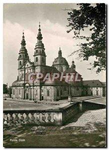 Postcard Modern Fulda Dom