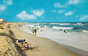 Delaware Greetings From The Delaware Coast Beach Scene