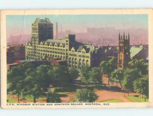 1950's CANADIAN PACIFIC CPR TRAIN DEPOT STATION Montreal Quebec QC G2580
