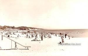 Beach of Lake Michigan Muskegon MI 1948