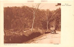 Indonesia, Republik Indonesia Road Behind Lebaksari  Road Behind Lebaksari