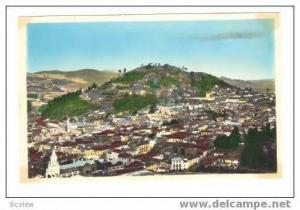 RP QUITO - Ecuador - Vista panoramica, 1956