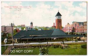 Depot, Terminal. Allentown PA