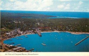 MA, Vineyard Haven, Massachusetts, Air View, Mike Roberts No. MA1823
