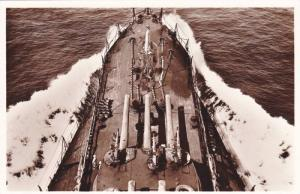 RP; View from above of Italian Navy ship, 10-20s