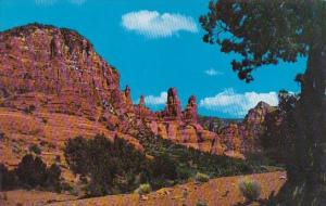Arizona Oak Creek Canyon Red Rock Mountain In Oak Creek Canyon