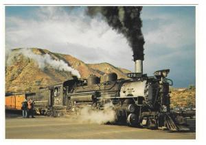 Durango Silverton Narrow Gauge Train Steam Engine 476 Petley