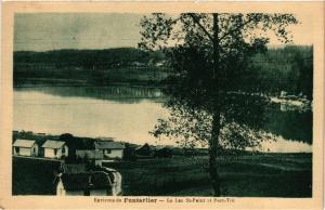 CPA Environs de PONTARLIER - Le Lac St-Point et Port - Titi (299989)