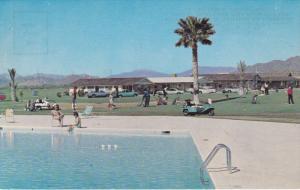 MESA, Arizona, 1940-1960's; Swimming Pool, Apache Wells Mobile City, E. Hermo...