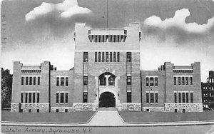 State Armory Syracuse, New York