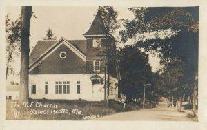 RP: DAMORISCOTTA , Maine , 1910s ; M. E. Church