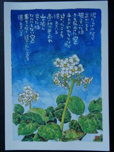 POTATO FLOWER Paintings Poems by Japanese Disabled Artist Tomihiro Hoshino PC