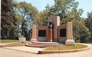 Civil War Post Card Old Vintage Antique Postcard Lincoln Speech Memorial, Get...