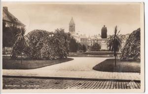 Norrkoping, Karl Johan's Park RP PPC, 1936 PMK to Mrs Palmer, Eaaling Common