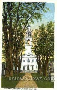 Universalist Church Gloucester MA Unused