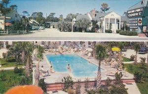 Ocean Pines Courts , MYRTLE BEACH , South Carolina , 40-60s; Swimming Pool
