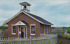 Replica of One Room Country School House Pioneer Park Aurora Illinois