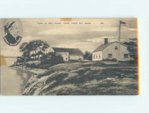 1940's HISTORIC HOME Casco Bay - Near Portland Maine ME W4525
