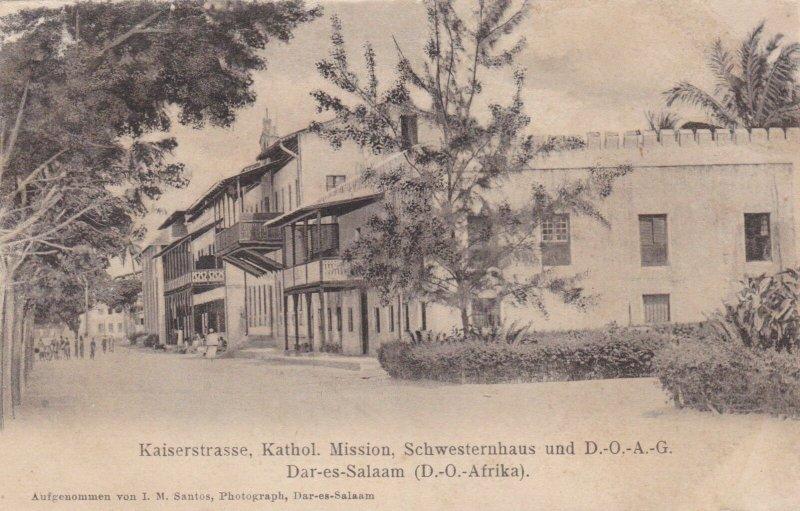 Tanzania Dar-es-Salaa, Kaiserstrasse Catholic Mission sk3133