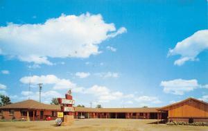 Stratford Texas~Ranger Motel~Roadside US Hiway 54~Best Western~1950s Postcard