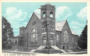 East Palestine Ohio ME Church Antique Postcard J56304