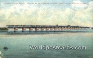 Victoria Jubilee Bridge Grand Trunk Railway System Canada 1907