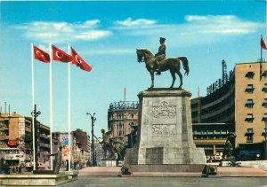 Turkey Postcard Ankara panorama Ataturk monument