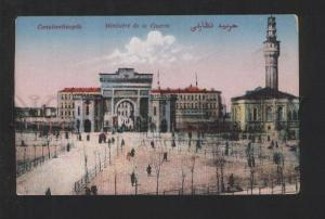 076925 CONSTANTINOPLE military ministry building Vintage PC